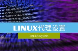 Linux代理设置