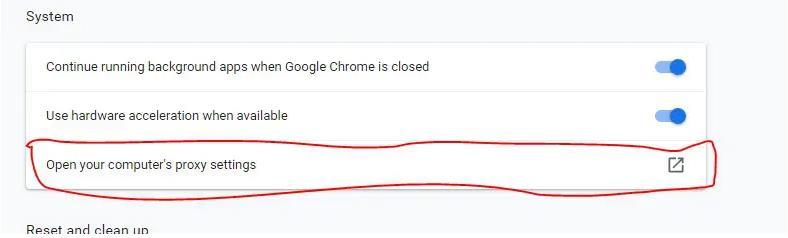 Chrome代理设置3