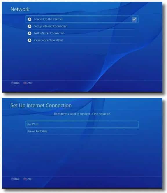PS4 上设置代理服务器2