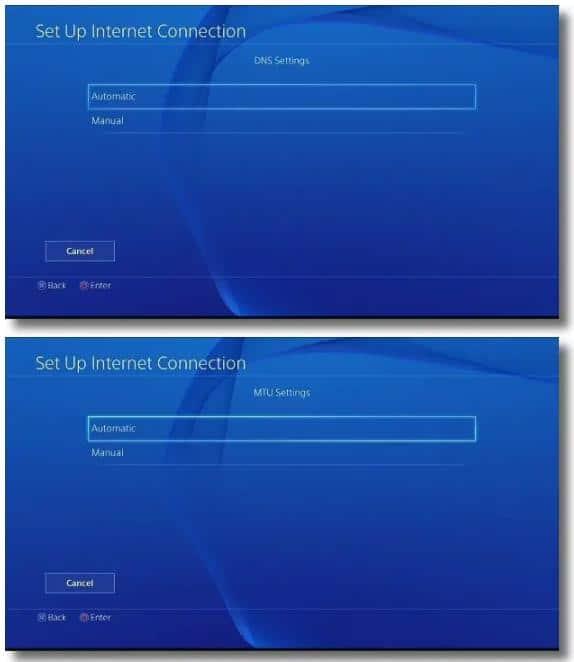 PS4 上设置代理服务器4